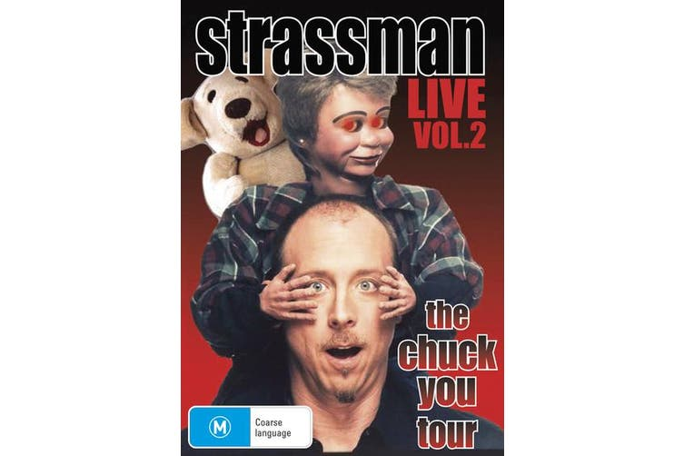 David Strassman The Chuck You Tour DVD Region 4