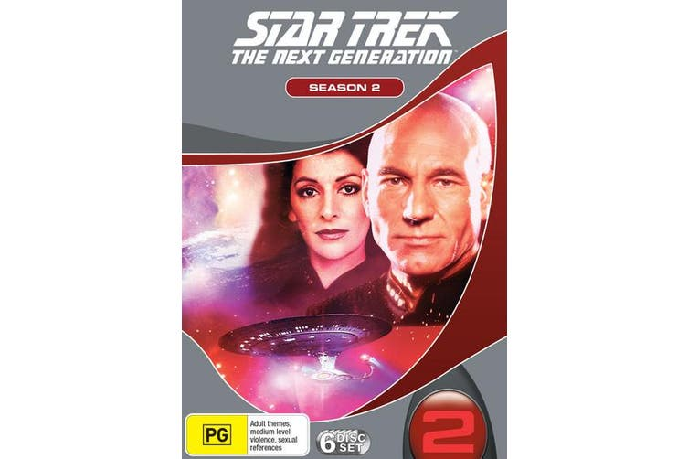 Star Trek the Next Generation The Complete Season 2 Box Set DVD Region 4
