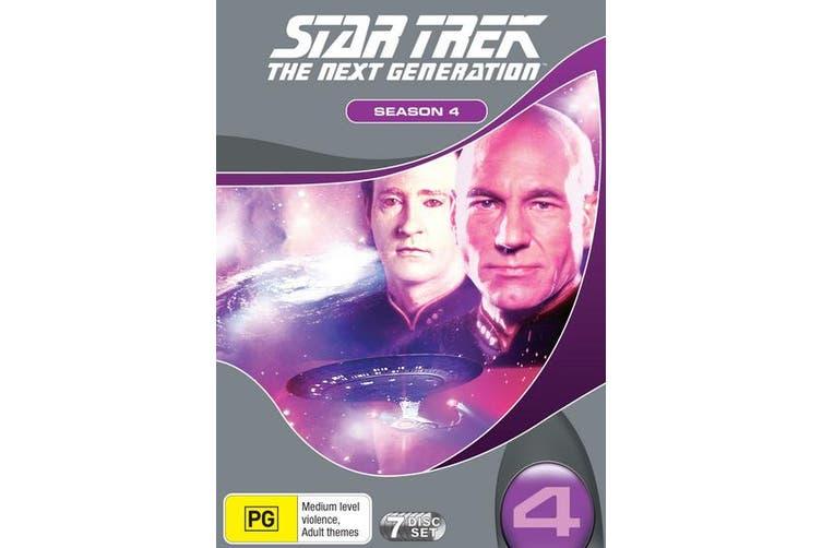 Star Trek the Next Generation The Complete Season 4 Box Set DVD Region 4