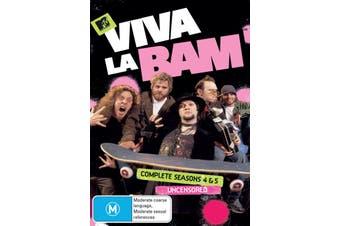 Viva La Bam Seasons 4 and 5 DVD Region 4