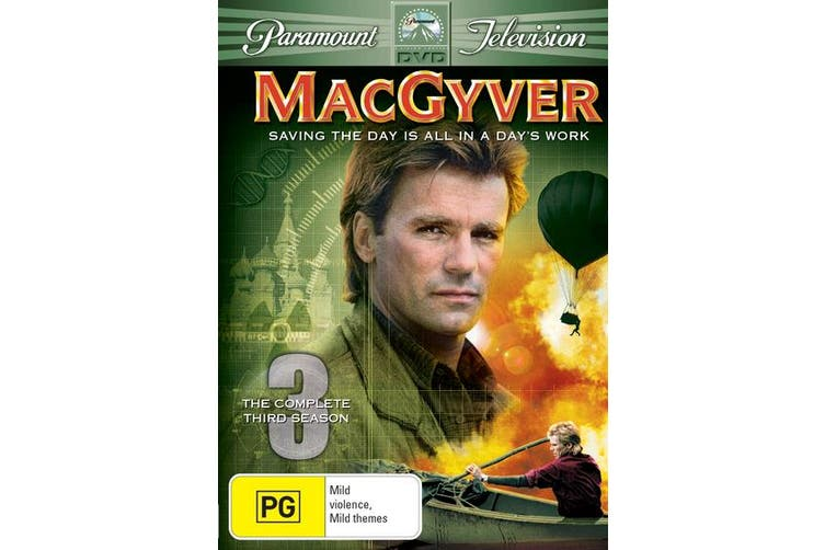 MacGyver Season 3 DVD Region 4