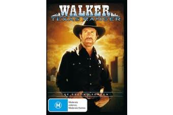 Walker Texas Ranger Season 2 DVD Region 4