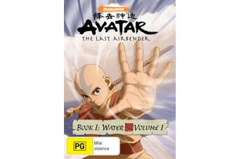 Avatar The Last Airbender Book 1 Water Volume 1 DVD Region 4