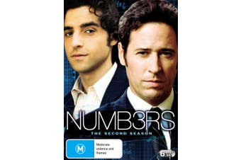 Numb3rs The Second Season 2 DVD Region 4