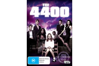 The 4400 The Third Season 3 DVD Region 4