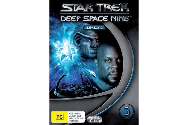 Star Trek Deep Space Nine Series 3 DVD Region 4