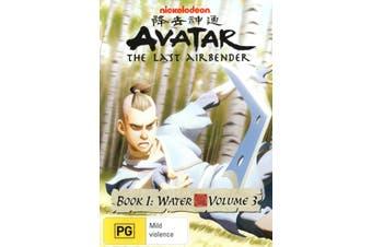 Avatar The Last Airbender Book 1 Water Volume 3 DVD Region 4