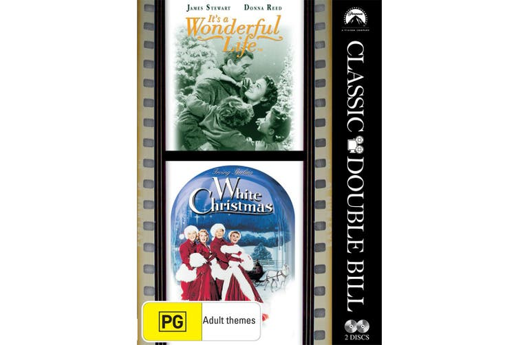 Its a Wonderful Life / White Christmas DVD Region 4