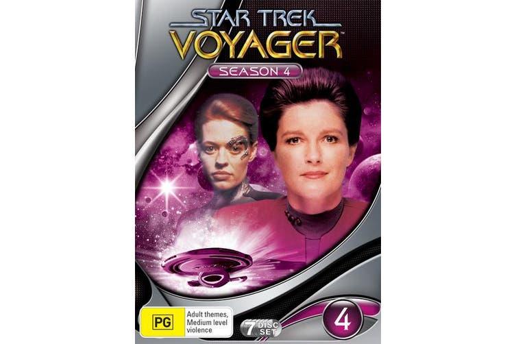 Star Trek Voyager Season 4 DVD Region 4
