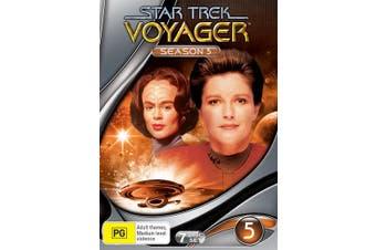 Star Trek Voyager Season 5 DVD Region 4