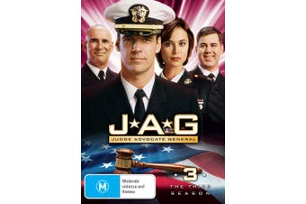 JAG The Complete Third Season 3 DVD Region 4