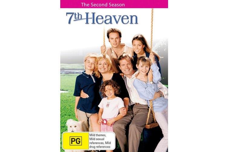 7th Heaven Season 2 DVD Region 4