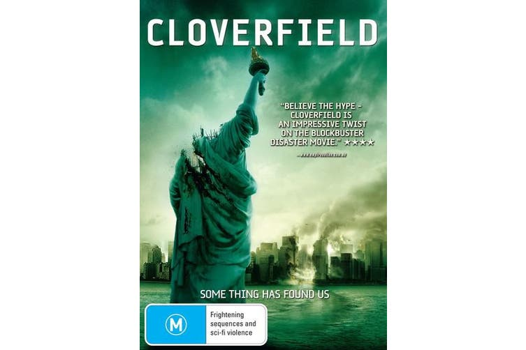 Cloverfield DVD Region 4