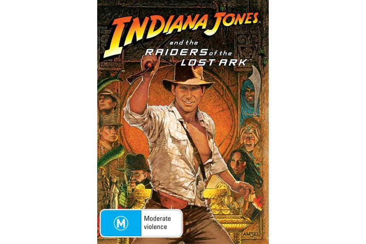 Indiana Jones and the Raiders of the Lost Ark DVD Region 4
