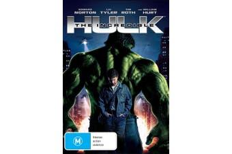 The Incredible Hulk DVD Region 4
