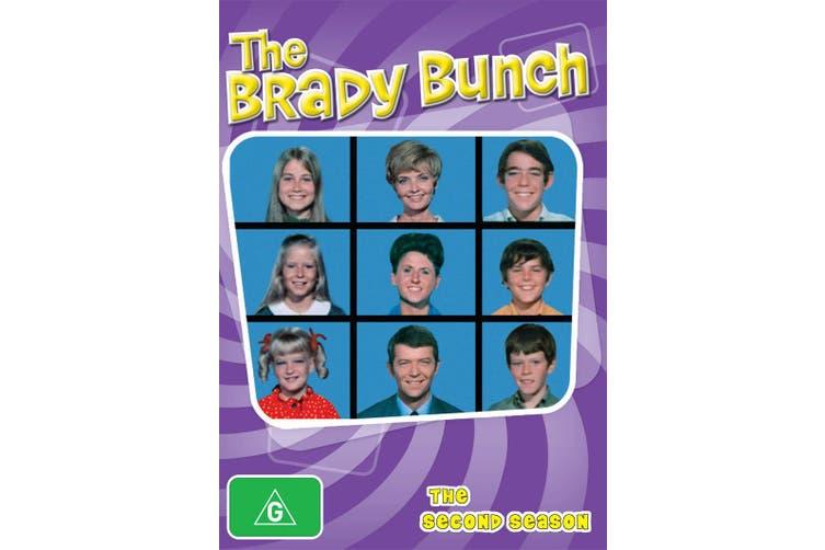 The Brady Bunch Season 2 DVD Region 4
