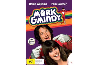 Mork and Mindy The Second Season 2 Box Set DVD Region 4