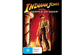 Indiana Jones and the Temple of Doom DVD Region 4