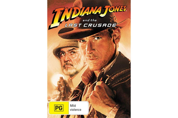 Indiana Jones and the Last Crusade DVD Region 4