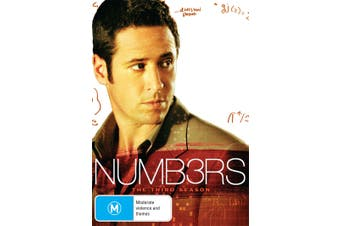 Numb3rs The Third Season 3 Box Set DVD Region 4