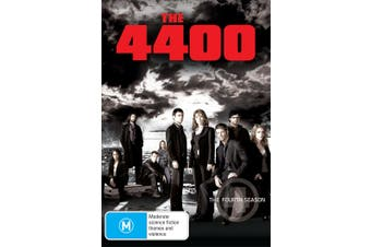 The 4400 The Fourth Season 4 DVD Region 4