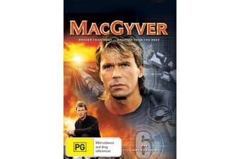 MacGyver Season 6 DVD Region 4