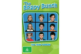 The Brady Bunch The Third Season 3 DVD Region 4