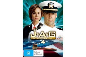JAG The Complete Fourth Season 4 DVD Region 4