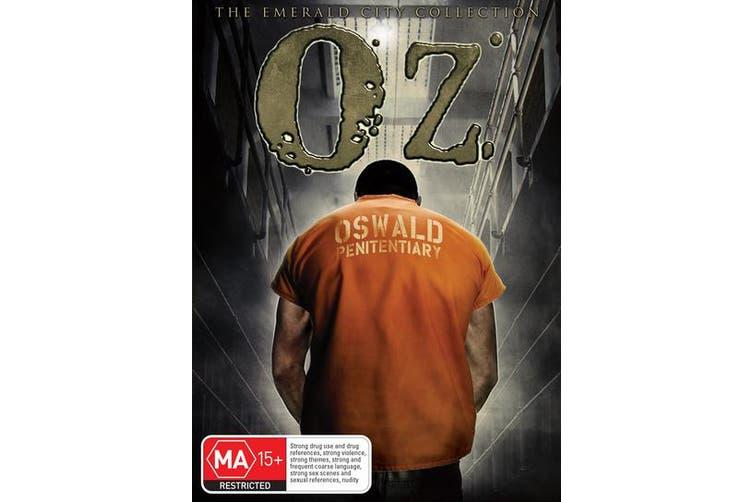 Oz The Complete Seasons 1-6 DVD Region 4
