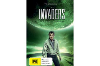 The Invaders The Second Season 2 DVD Region 4