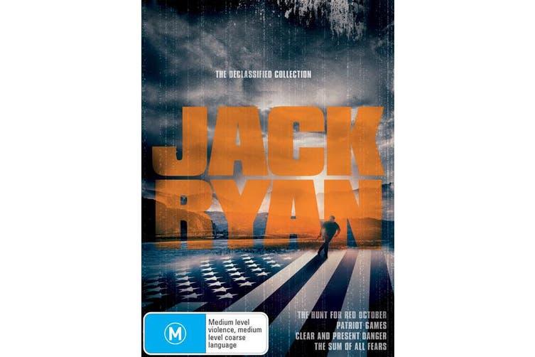 The Jack Ryan Collection DVD Region 4