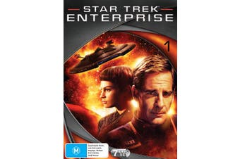 Star Trek Enterprise Season 1 DVD Region 4