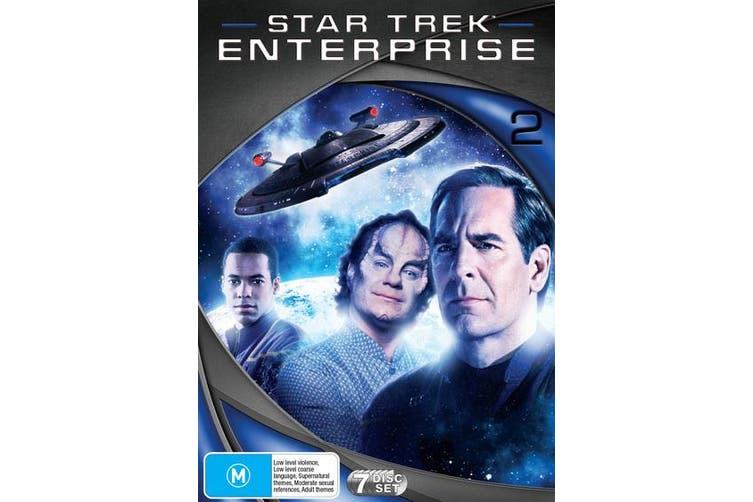 Star Trek Enterprise Season 2 DVD Region 4