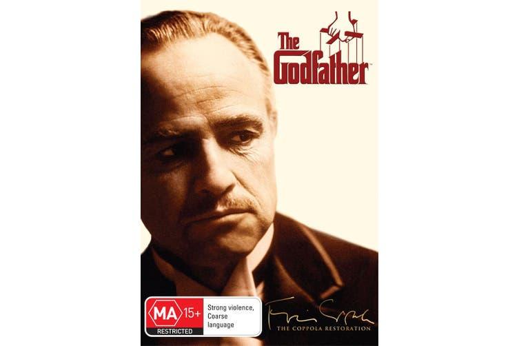 The Godfather DVD Region 4