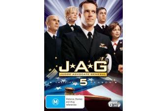 JAG The Complete Fifth Season 5 DVD Region 4
