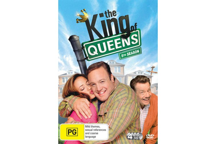 The King of Queens 5th Season DVD Region 4