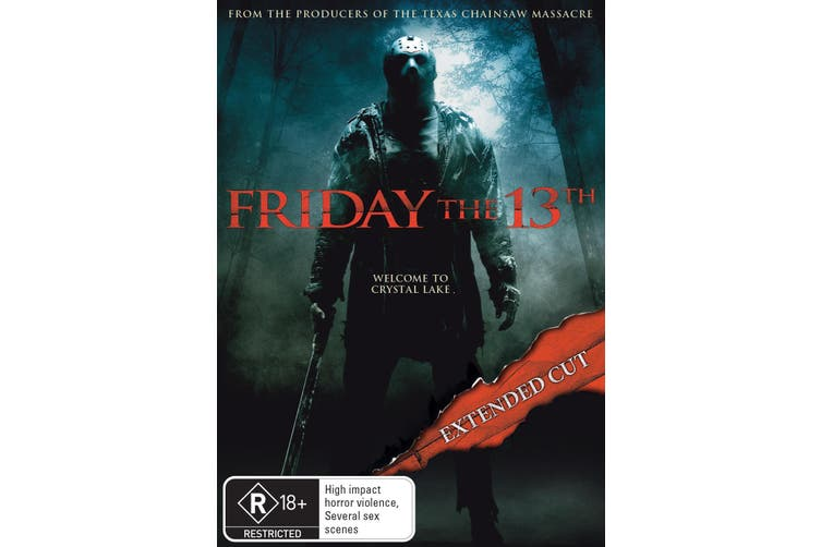 Friday the 13th Extended Cut DVD Region 4
