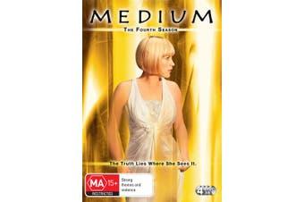 Medium The Fourth Season 4 DVD Region 4