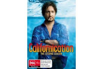 Californication Season 2 DVD Region 4