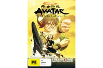Avatar The Last Airbender Book 2 Earth Volume 2 DVD Region 4