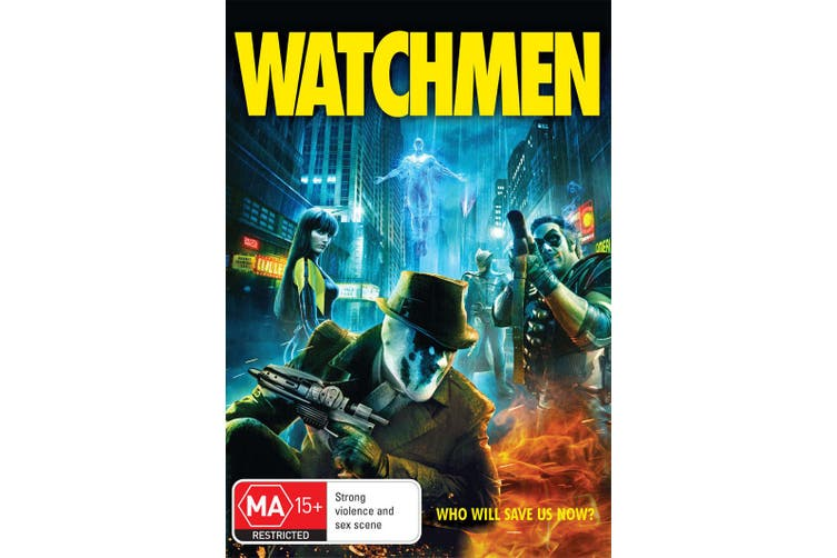 Watchmen DVD Region 4