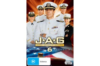 JAG The Complete Sixth Season 6 DVD Region 4