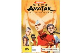Avatar The Last Airbender Book 2 Earth Volume 3 DVD Region 4