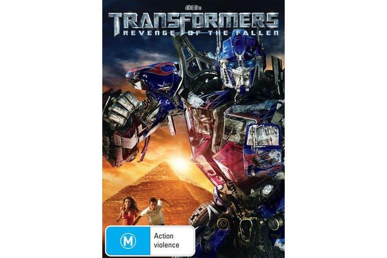 Transformers Revenge of the Fallen DVD Region 4