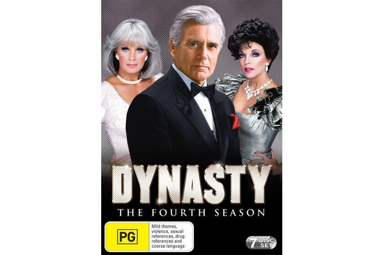 Dynasty The Fourth Season 4 Box Set DVD Region 4
