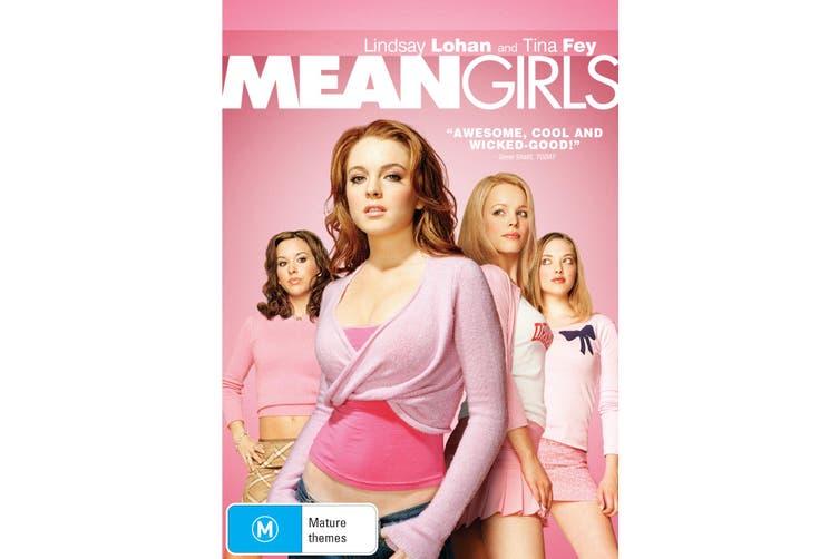 Mean Girls DVD Region 4