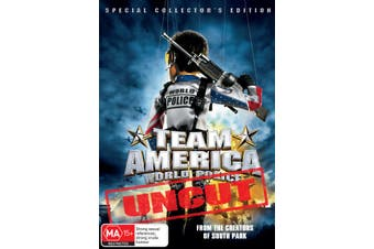 Team America World Police DVD Region 4