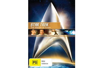 Star Trek 2 The Wrath of Khan DVD Region 4