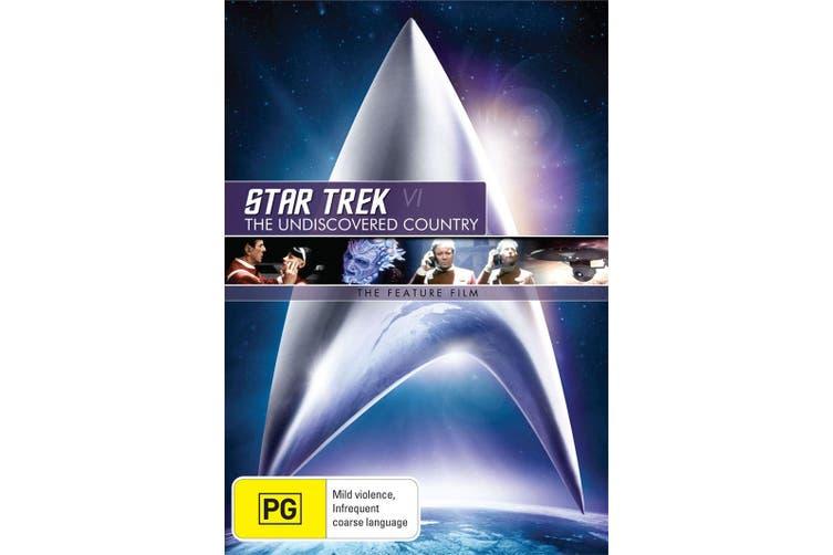Star Trek 6 The Undiscovered Country DVD Region 4