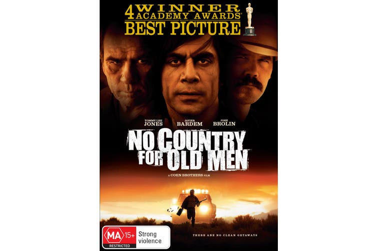 No Country for Old Men DVD Region 4
